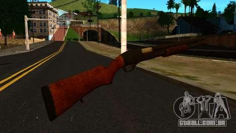 Madeira MP-133 Sem Brilho para GTA San Andreas segunda tela
