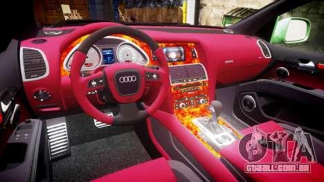 Audi Q7 2009 ABT Sportsline [Update] rims2 para GTA 4 vista lateral