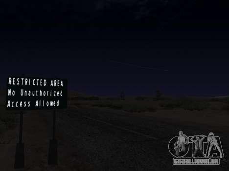 Real California Timecyc para GTA San Andreas sexta tela