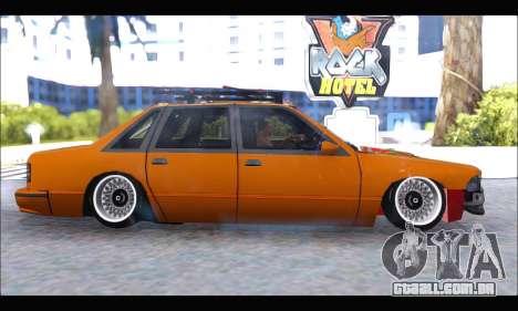 Taxi Extreme Tuning (Hellalfush) para GTA San Andreas esquerda vista