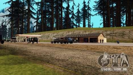 Recuperação de estações de San Fierro País para GTA San Andreas sétima tela