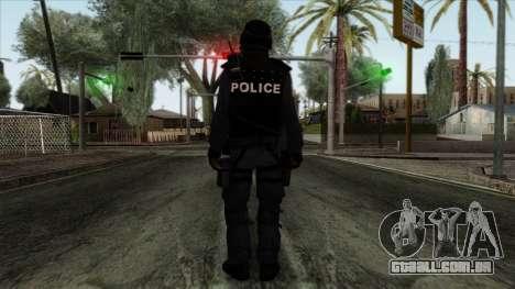 Police Skin 12 para GTA San Andreas segunda tela
