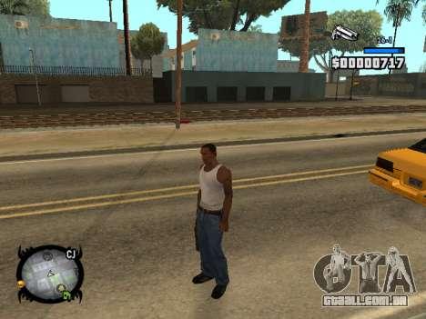HUD by LMOKO para GTA San Andreas segunda tela
