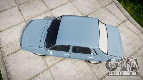 Dacia 1300 v2.0 para GTA 4 vista direita
