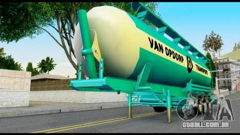 Mercedes-Benz Actros Trailer VAN OPDORP para GTA San Andreas
