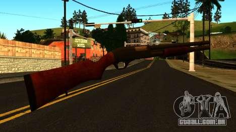 Madeira MP-133 com Glitter para GTA San Andreas terceira tela