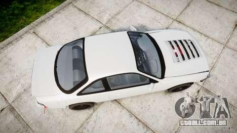 Nissan Silvia S14 Missile para GTA 4 vista direita
