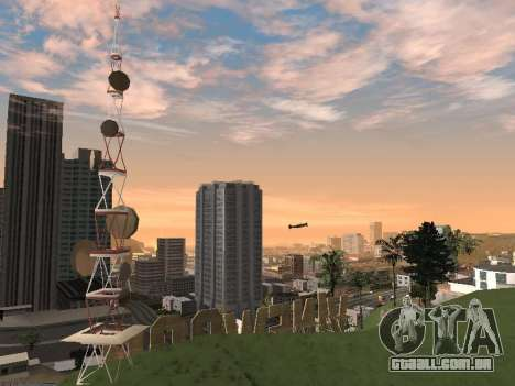 Real California Timecyc para GTA San Andreas décimo tela