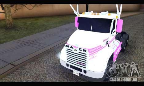 Mack Vision Pinnacle 2010 para GTA San Andreas