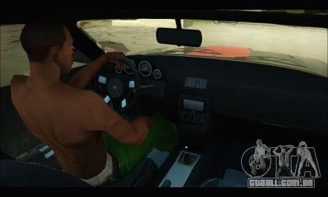 Bravado Gauntlet (GTA V) para GTA San Andreas vista traseira