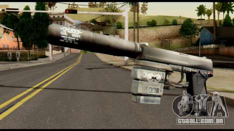 Silenced Socom from Metal Gear Solid para GTA San Andreas