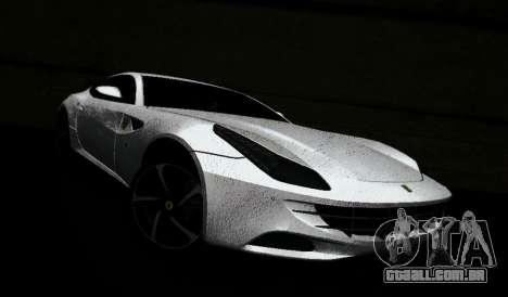 Ferrari FF para GTA Vice City vista traseira esquerda