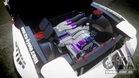 Mazda RX-7 Rocket Bunny MadMake para GTA 4 vista interior