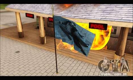 Flag Spiderman Noir para GTA San Andreas