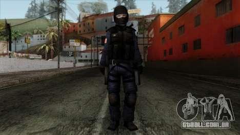 Police Skin 12 para GTA San Andreas