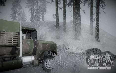 Inverno ENBSeries para GTA San Andreas sexta tela