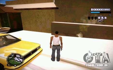 HUD GOSKA para GTA San Andreas por diante tela