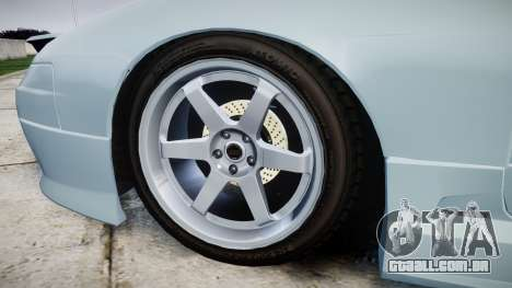 Nissan Onevia S15 para GTA 4 vista de volta