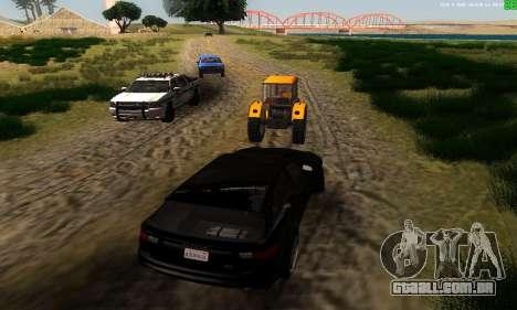 Novas rotas de transporte para GTA San Andreas