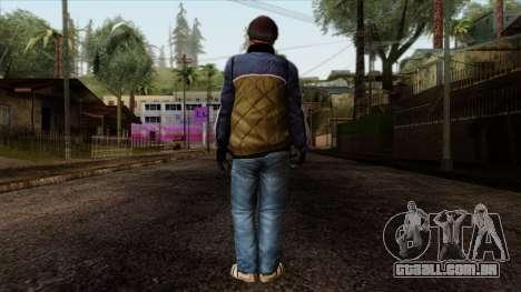 GTA 4 Skin 25 para GTA San Andreas segunda tela