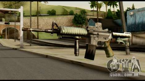 SOPMOD from Metal Gear Solid v3 para GTA San Andreas