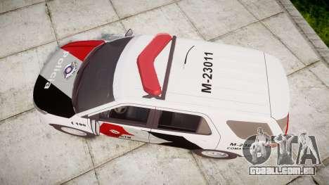 Ford Explorer 2013 Police Forca Tatica [ELS] para GTA 4 vista direita