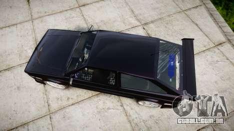 Volkswagen Gol GTI para GTA 4 vista direita