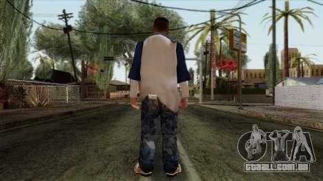 GTA 4 Skin 20 para GTA San Andreas segunda tela