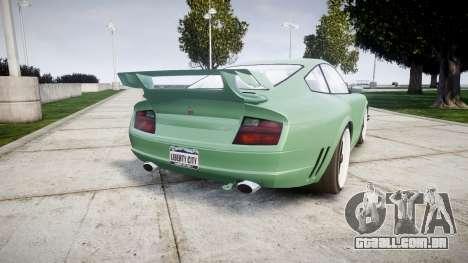 GTA V Pfister Comet 911 Wheel para GTA 4 traseira esquerda vista