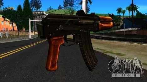 Brilhante AKS-74U v2 para GTA San Andreas segunda tela