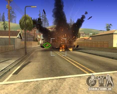 GTA 5 Effects para GTA San Andreas por diante tela
