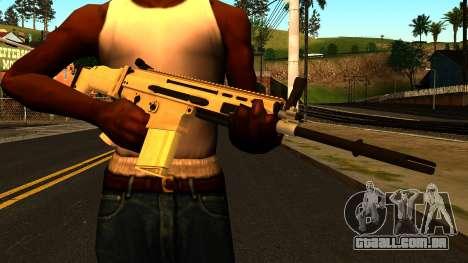 FN SCAR-H from Medal of Honor: Warfighter para GTA San Andreas terceira tela