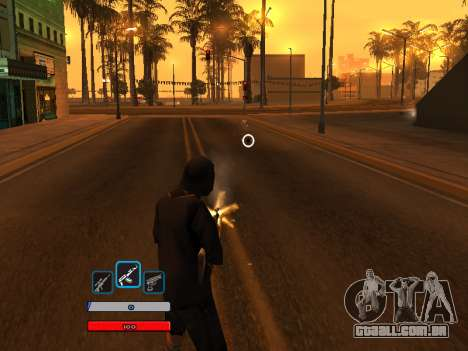 C-HUD by Fawkes (Fix) v2 para GTA San Andreas