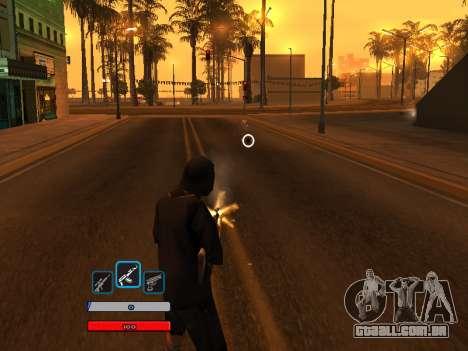 C-HUD by Fawkes (Fix) v2 para GTA San Andreas terceira tela