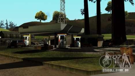 Recuperação de estações de San Fierro País para GTA San Andreas quinto tela