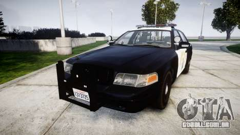 Ford Crown Victoria Highway Patrol [ELS] Liberty para GTA 4