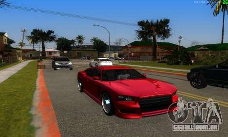 Novas rotas de transporte para GTA San Andreas terceira tela