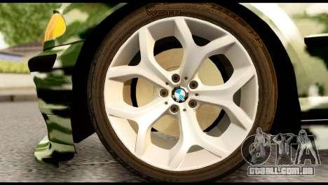 BMW M3 E46 TSK para GTA San Andreas traseira esquerda vista