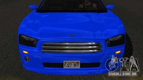 Bravado Buffalo Sedan v1.0 (IVF) para GTA San Andreas traseira esquerda vista