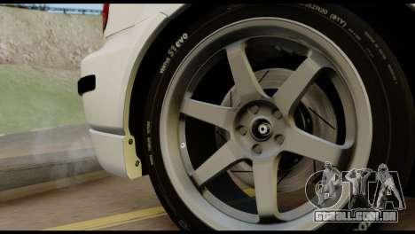 Honda Civic 1.4 Mehmet ALAN para GTA San Andreas vista direita