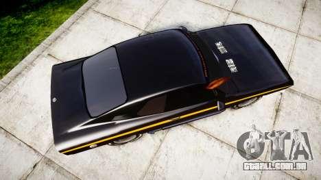 Opel Manta A Black Magic para GTA 4 vista direita