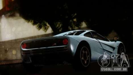 McLaren F1 Autovista para GTA San Andreas esquerda vista