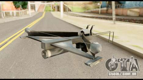 Fear Crossbow from Metal Gear Solid para GTA San Andreas