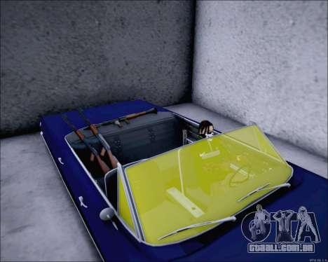 Chevrolet Impala 1963 para GTA San Andreas vista direita