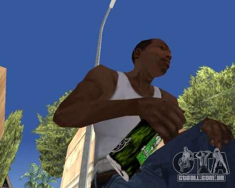HD Weapon Pack para GTA San Andreas décimo tela