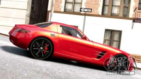 Mercedes-Benz SLS AMG 2011 [EPM] para GTA 4 esquerda vista