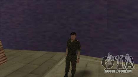 O Corpo de fuzileiros navais das forças armadas para GTA San Andreas