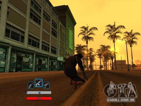 C-HUD by Fawkes (Fix) v2 para GTA San Andreas segunda tela