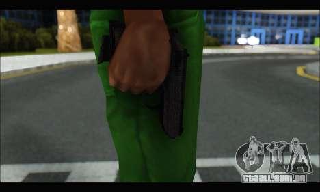 GTA ONLINE: SNS Pistol para GTA San Andreas terceira tela
