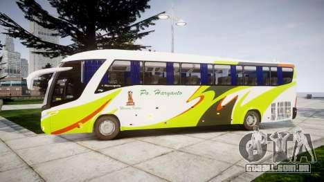 Marcopolo Paradiso G7 1200 PO Haryant para GTA 4 esquerda vista